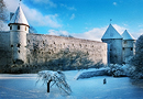 Arhitecture photograph. Professional architectural and industrial photographer Tiit Veermae. Medieval town wall in Tallinn.